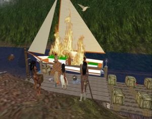 boat2burning 300x234 Gallery